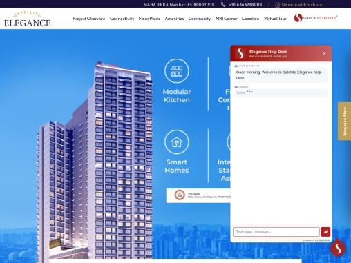 Satellite Elegance- 2BHK Residential Flats in Goregaon East