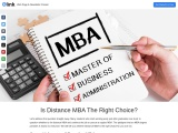 Is Distance MBA The Right Choice?