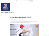 How to Find a Professional Painter?