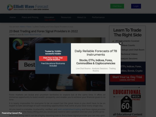 Top 8 Best Trading and Forex Signal Providers in 2021