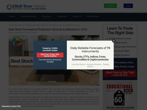 Best Stock Forecasts & Prediction Services & Websites in 2021