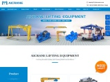 Aicrane lifting equipment with different types