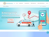 Receive Fastest Emergency Air, train and road Ambulance Services In Patna