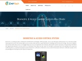 Buy the best biometric access control systems from Emirtech Technology Abu Dhabi, Duabi.