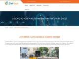 Automatic gate barrier systems in Abu Dhabi.
