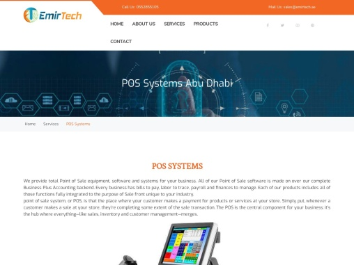 POS Systems | POS Software Abu Dhabi | POS Machine Suppliers
