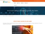 Structured cabling services in Musafah, Abu Dhabi.