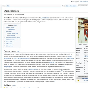 Duane Bobick - Wikipedia