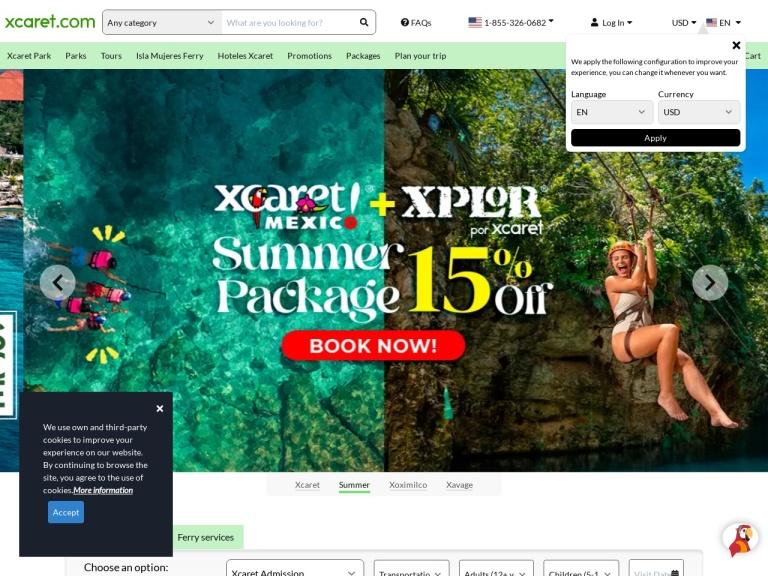 Experiencias Xcaret screenshot