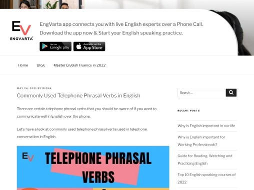 Commonly Used Telephone Phrasal Verbs in English