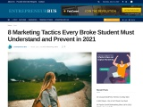 8 Marketing Tactics Every Broke Student Must Understand