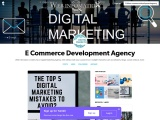 What are the Digital Marketing Specialists' main 5 marketing mistakes to keep away from?