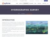 Hydrographic Survey | Bathymetric Survey Company in India