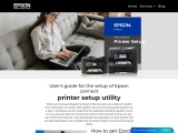 Epson connect printer setup utility