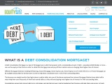 Debt Consolidation Mortgage Loan in Ontario