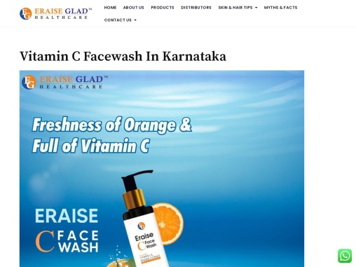 Vitamin C facewash in Karnataka