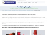 Fire Fighting Pump Set, Fire Fighting Pumps Set Supplier in Mumbai, India