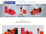 Fire Fighting Pumps, Jockey Fire Fighting Pump Supplier in India