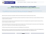 Water Pumps, Water Pumps Set Supplier in Mumbai, India