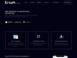 Erium Exchange – https://erium.exchange/