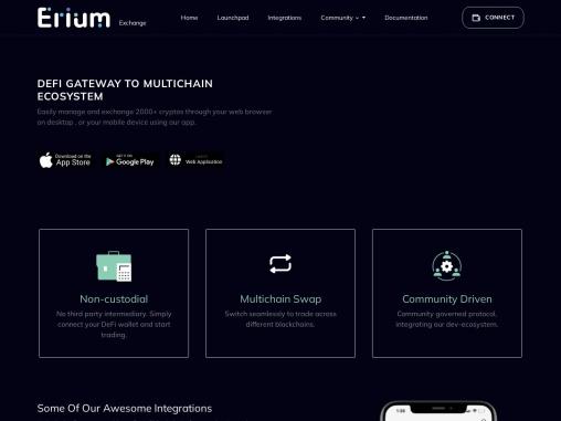 Eriun Crypto Exchange – https://erium.exchange/