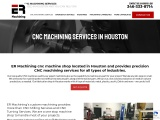 Excellent CNC Machining in Houston, Texas.