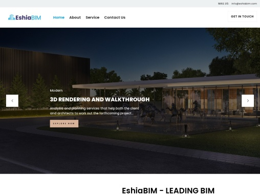 3D BIM Modeling Services – EshiaBIM