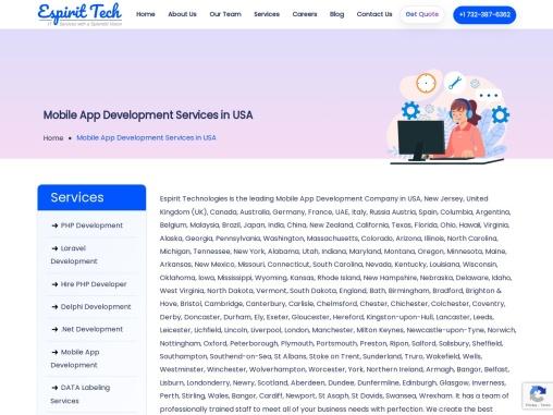 Mobile app development company   Best mobile app development E spirit