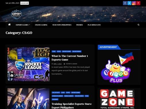 CGGO News   CSGO Update   Esport Philippines