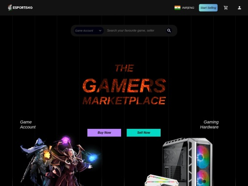 Buy or Sell Games online at the best prices- Esports4G.