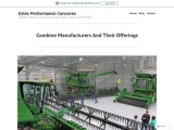 Combine Manufacturers And Their Offerings