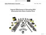 Improve Effectiveness of Harvesting With Aftermarket John Deere Combine Parts