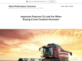Important Features To Look For When Buying A Case Combine Harvester