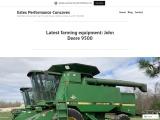 Latest farming equipment: John Deere 9500