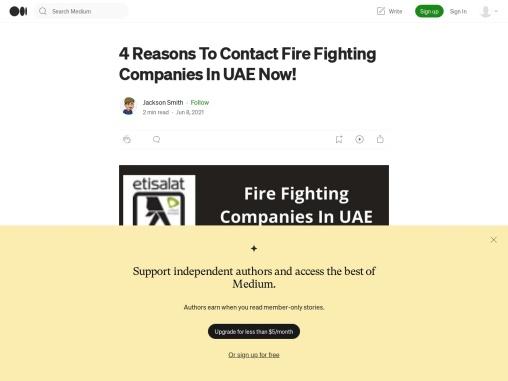 Top Fire Fighting Companies In UAE   Fire Fighting Companies In DUBAI