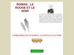 ROMAN _ LE ROUGE ET LE NOIR