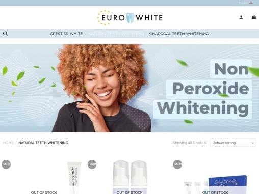 Natural Teeth Whitening Kit UK