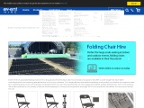 Comparison Between Folding Chairs Hire and buying them