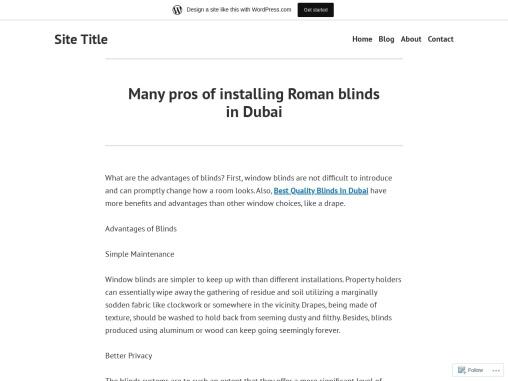 Roman blinds in Dubai   Call Now @ 971 43380491