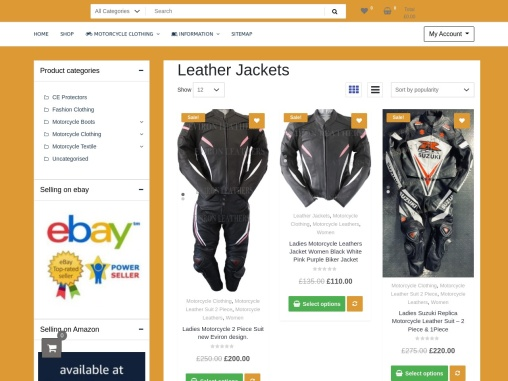 Affordable Motorcycle Jackets for Men   Eviron Sports