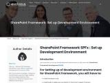 SharePoint Framework: Set up Development Environment
