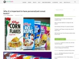 Why it is important to have personalized cereal boxes?