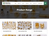 Importance of Brass Parts for Industrial Applications | Excel International