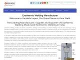 Exothermic welding | Exothermic welding