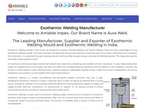 Exothermic Welding Manufacturer