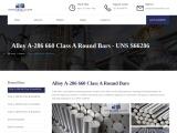 Alloy A-286 660 Class A Round Bar Suppliers