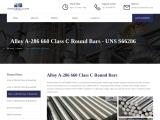 Alloy A-286 660 Class C Round Bar Exporters In Mumbai