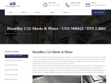 Alloy C22 Thin Sheet Stockists