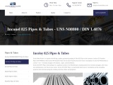 Incoloy 825 Pipes & Tubes Stockists