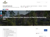 16 Top Travel Places in New Mexico to Plan a Backpacking Trip